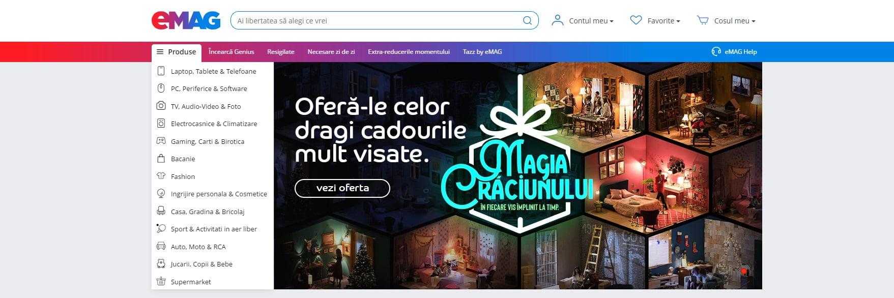 campanie de Craciun eCommerce business